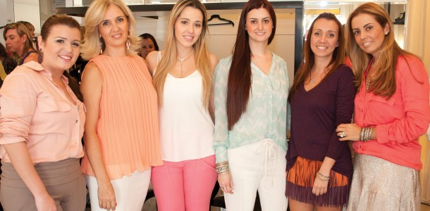 Rebeca Dias, Margarida Recoder, Manuela Recoder, Duda Recoder, Alessandra Dias