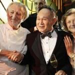 O Chef Pierre Gagnaire, Cecil Chau e Sally Lo