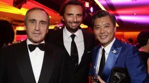 Francois Curiel, Benjamin Vuchot e Peter Cheung