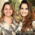 Rose Boson e  Gabriela Marinho
