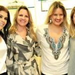 Cristiane Rodrigues, Rose Boson, Mariana Tomasi  e Anete Schickler
