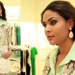 Marcela Collins desfila com roupas e joias das novas coleções