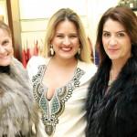 Flávia Araujo, Mariana Tomasi  e Marinella Guimarães
