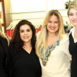 Gilneide Mourão, Elizabete Muniz, Maeiana Tomasi e  Ana Silvia