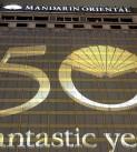 50 anos do Mandarin Oriental Hong Kong