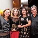 Patricia Caldas, Angela Monteiro, Maria Elvira e Fernando Varela