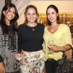 Bruna Hirszman, Carolina Morrisson e Mariana Moreira