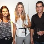 Dani Madureira, Julia Marinho e Pedro Mares Guia