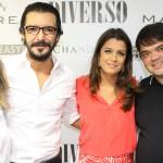 Renata Azevedo, Bruno Marinho, Dani Madureira e Rafa Alves