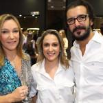 Márcia Magalhães Pinto, Renata Azevedo e Bruno Marinho