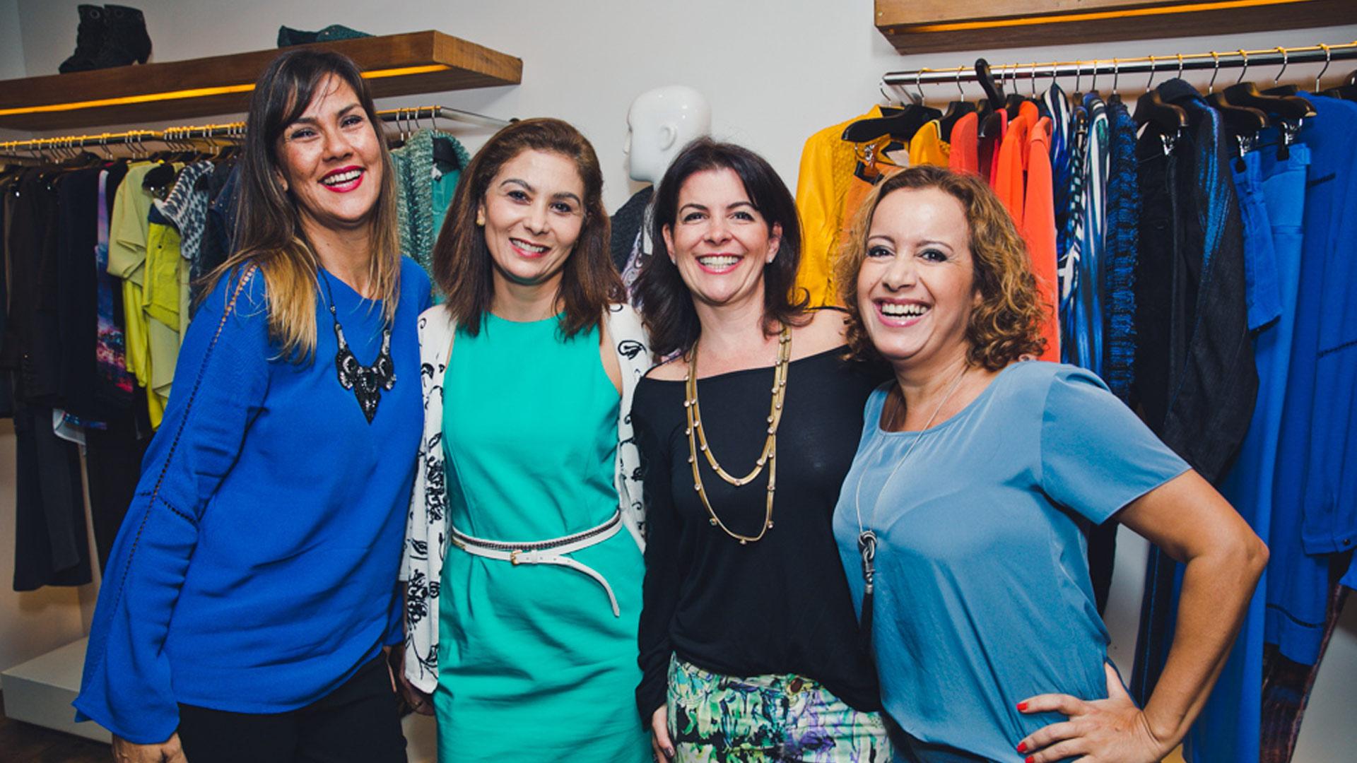 Suzana Arata, Melina Cunha, Laila Amin e Ana Leite